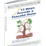 Back From The Looking Glass - 13 Steps Towards A Peaceful Home Cover