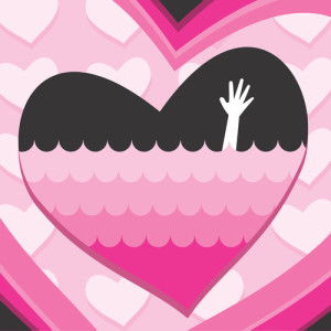 Codependency in your marriage: Drowning Hand waving for help in in heart