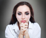 Signs Of Your Codependence In Marriage: Sad Woman Praying For Help.