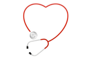 Creating a great marriage - Heart and stethoscope