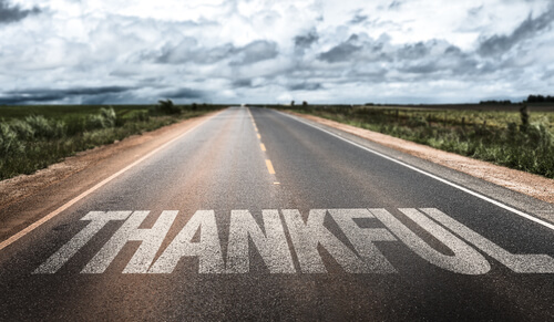 On the Road to Thankful
